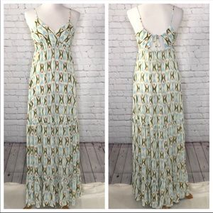 Quicksilver geo print maxi dress